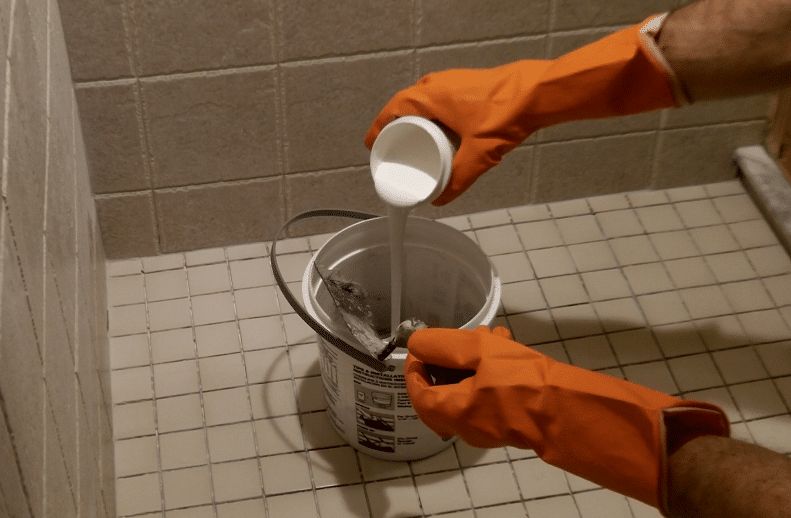 Shower Grout-How to Install Epoxy Shower Grout