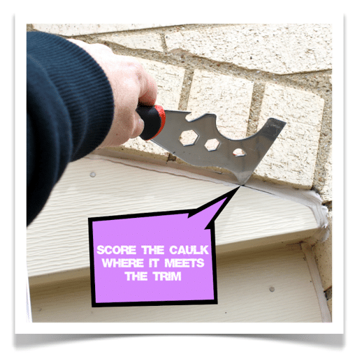 How to remove silicone caulk with lift off - Silicone caulk for exterior windows ...