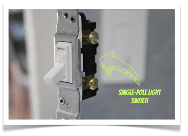 Single Pole Light Switch