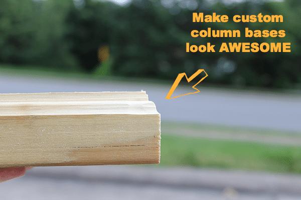 Customized Wood Column Bases