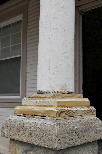 Why It S A Good Idea To Inspect Your Front Porch Column