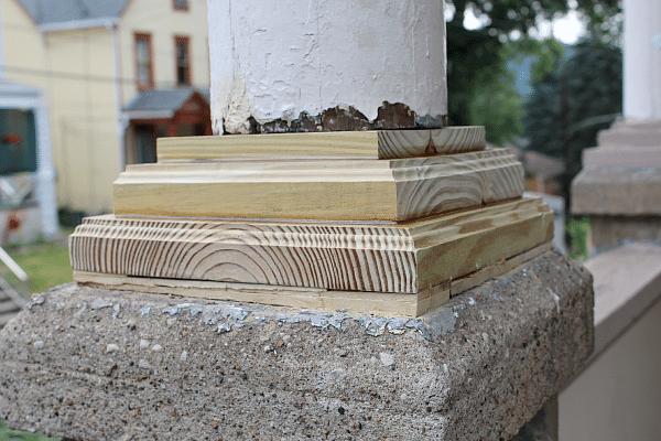 Pin 06 Wood Porch Columns Jpg On Pinterest