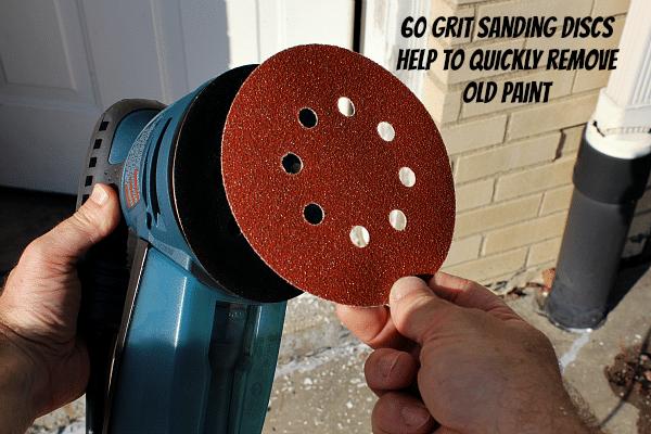 60 Grit Sanding Discs