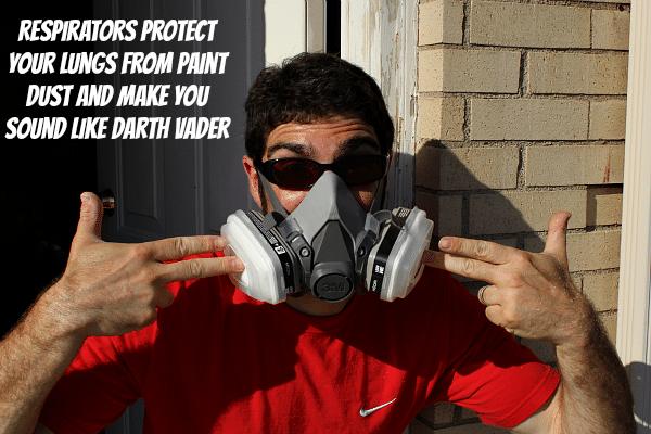 Wear a paint respirator