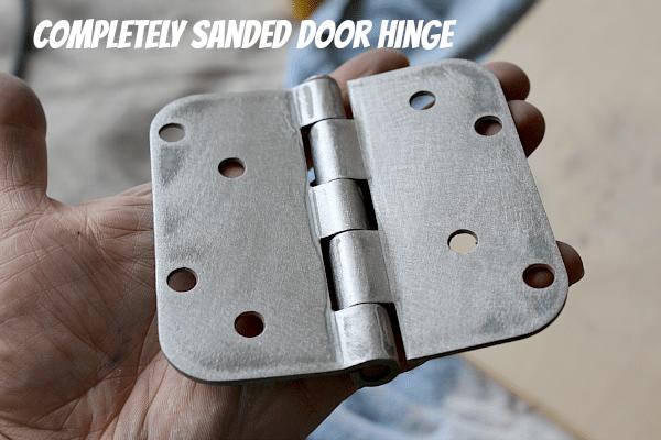 Sanded Door Hinge