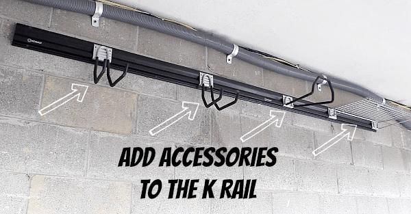 Add Accessories to K Rail
