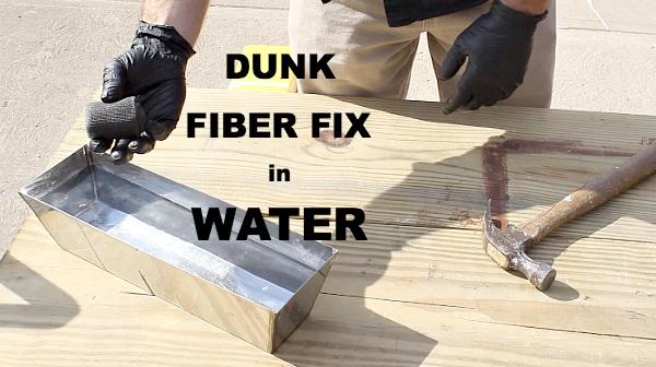 Duk Fiber Fix in Water