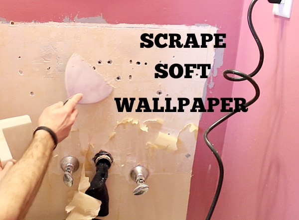 Scrape soft wallpaper