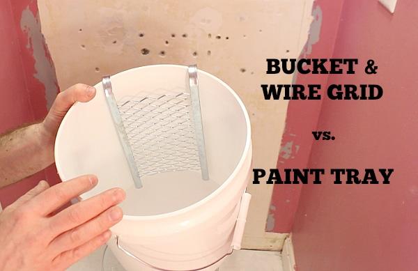 Bucket & Wire Grid