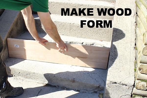 Cement Step Repair Home Repair Tutor