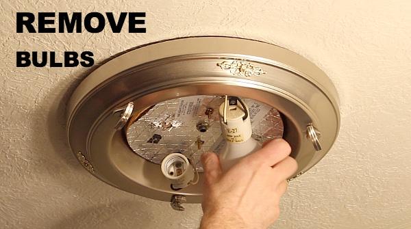 Remove Light Bulbs