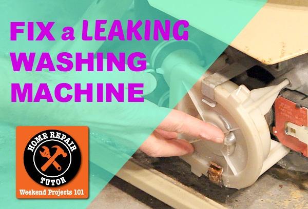 washing machine is leaking
