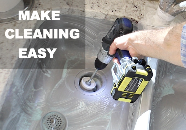 Make cleaning easy