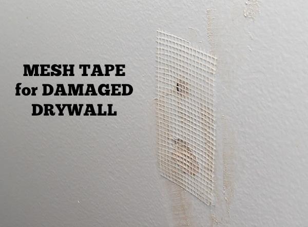 Mesh drywall tape