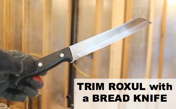 Trim Roxul