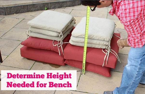 Determine Bench Height