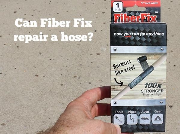 Fiber fix repair a hose