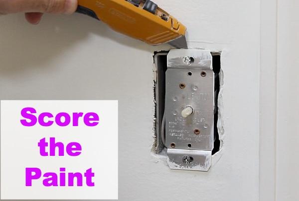 Score the paint