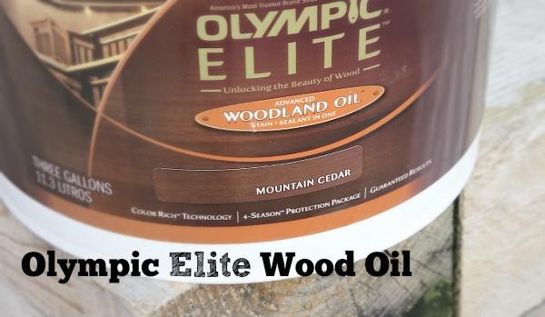 Olympic elite woodland oil