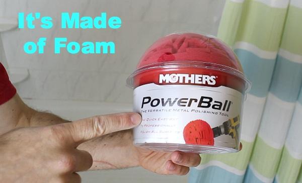 PowerBall is Foam