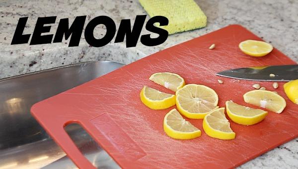 Lemons for Garbage Disposal