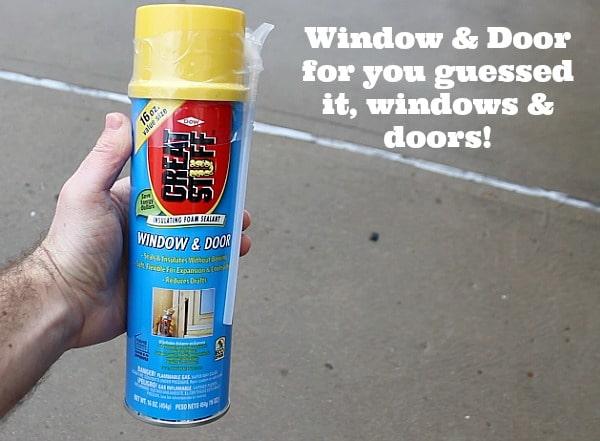 Great Stuff Window And Door