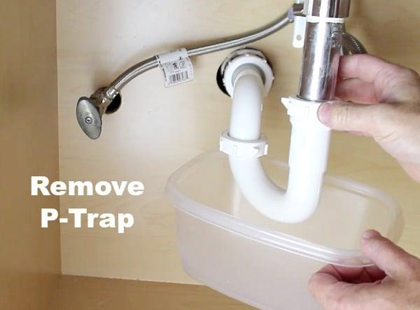 Remove P Trap