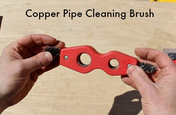 Copper Pipe Cleaning Brush