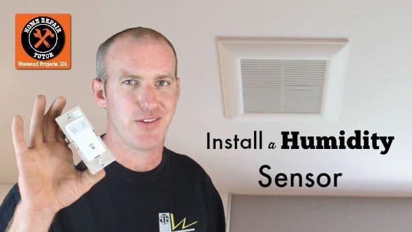 How To Install Leviton S Humidity Sensor Stop Muggy