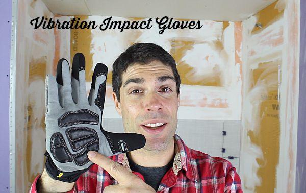Vibration Impact Gloves
