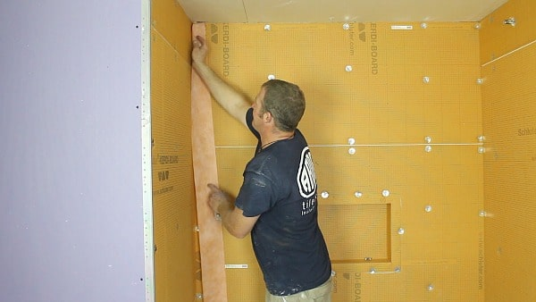 How To Install Schluter Kerdi Board Step By Step