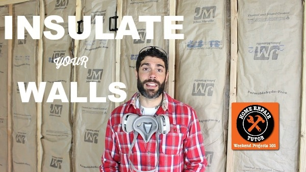 Insulate Walls and Ceilings