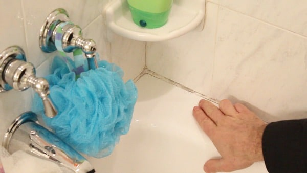 Moldy Shower Caulk