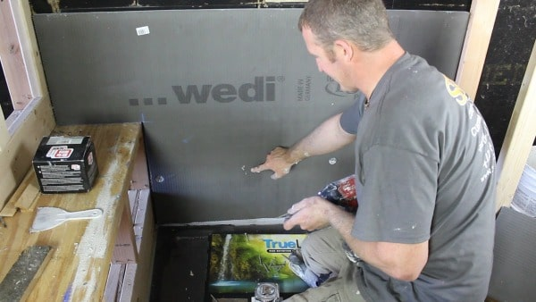 Wedi building panel