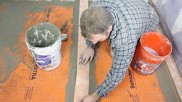 Ditra Floor Prep Taraba Home Review