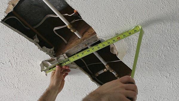 Measure Width of Hole
