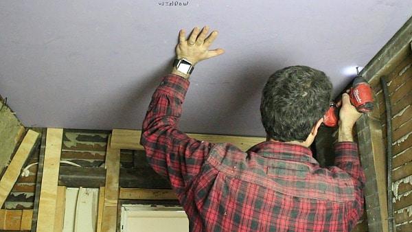 Hoist Drywall
