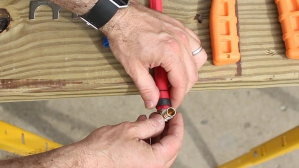 How to Install PEX Pipe in 10 Minutes or Less   Home Repair Tutor