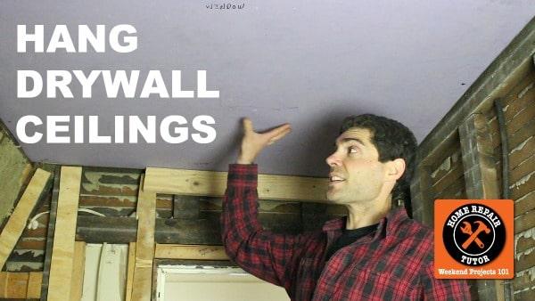 Hang Drywall Ceilings