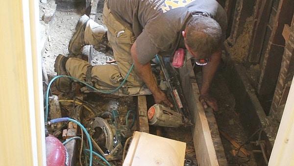 Subfloor repair