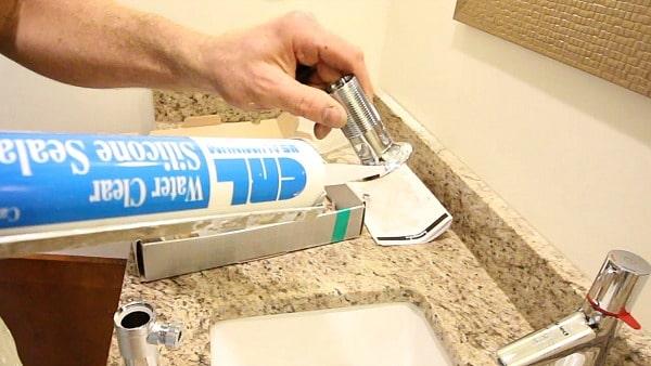 Silicone Bathroom Faucet Drain