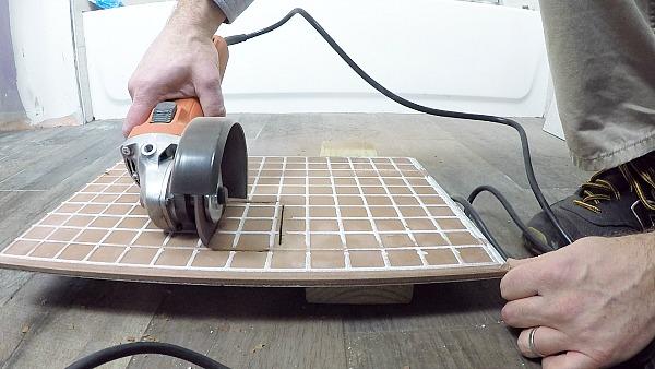 Back Side Tile Cut