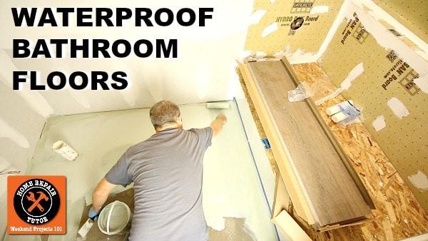 Hydro Ban for Bathroom Floors