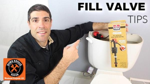 Fluidmaster PRO45H Fill Valve Tips
