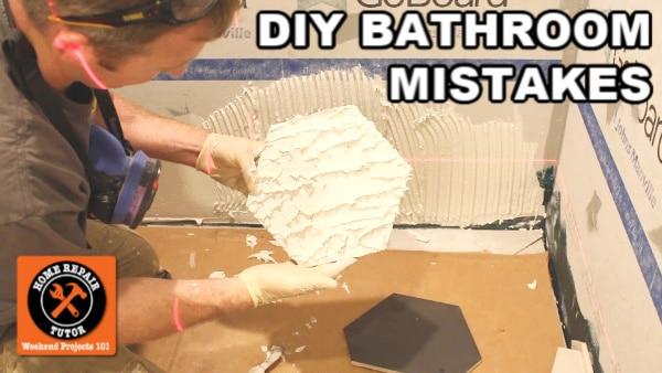 DIY Bathroom Remodeling Mistakes by Homeowners