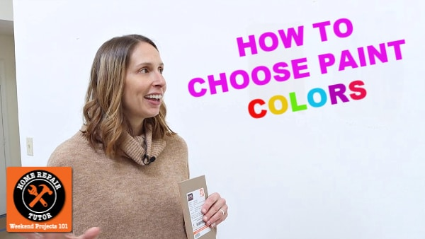 How to Choose Paint Colors for Walls and More