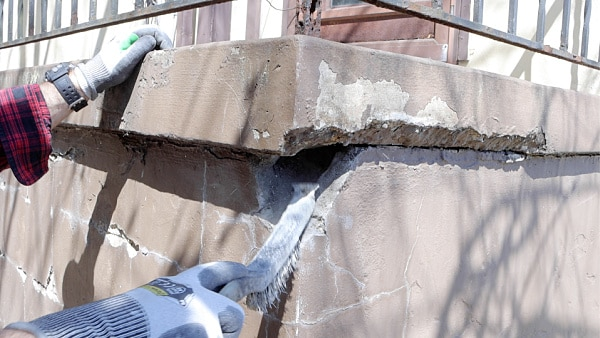 How to Wire Brush Concrete