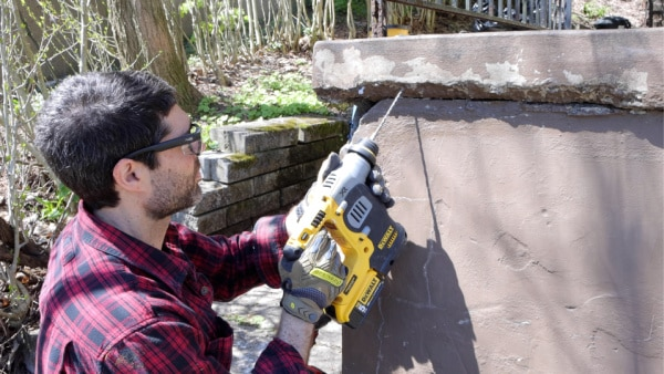 SDS Drill for Concrete Repair