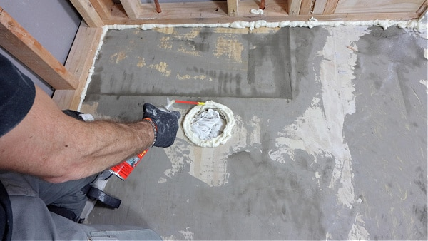 How to Seal Wood Floors with Great Stuff