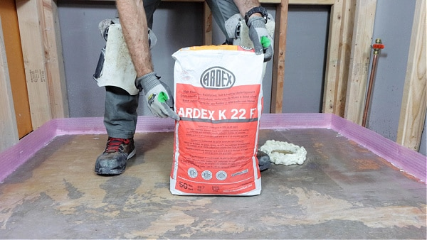 How to Use Ardex Self Leveler